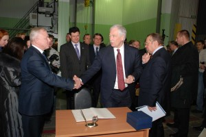 Визит Председателя Госдумы Б.В.Грызлова в ОНПП Технология
