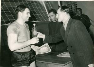 1956-1957г. - А. Кузнецов, председатель областного комитета ФиС